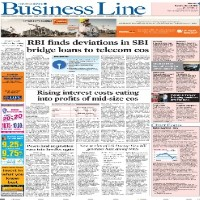 Read today Business Line Newspaper