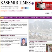 Read today Kashmir Times Newspaper