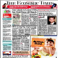 Read today The Economic Times Newspaper
