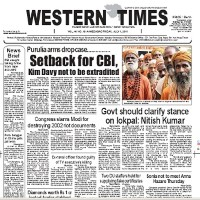 Read today Western Times Newspaper